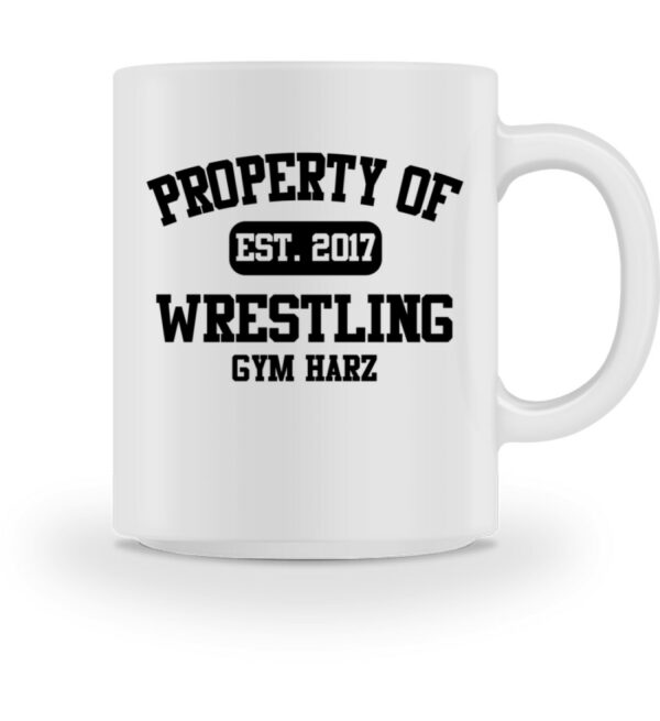 Property Wrestling Gym Tasse - Tasse-3