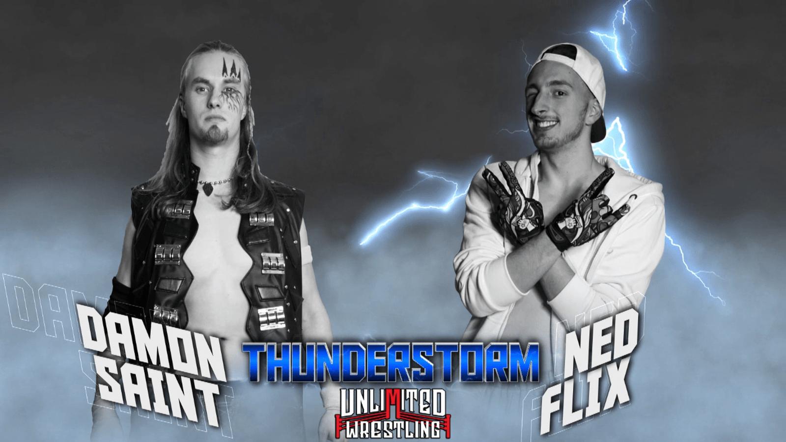 Damon Saint vs. Ned Flix