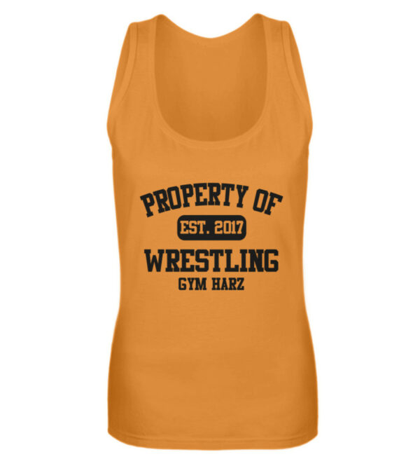 Property Wrestling Gym Girlie Tanktop - Frauen Tanktop-20