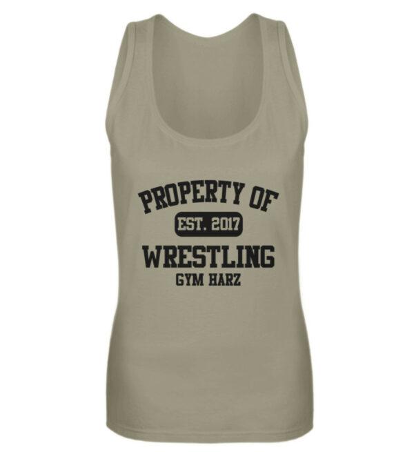 Property Wrestling Gym Girlie Tanktop - Frauen Tanktop-651