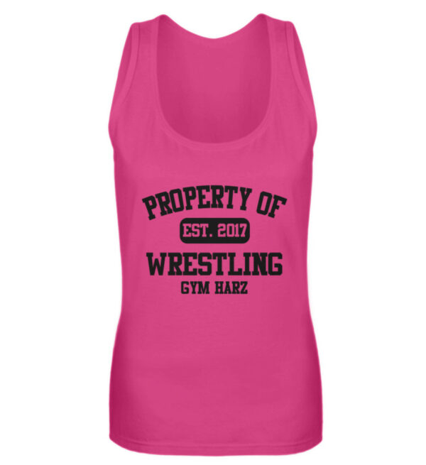 Property Wrestling Gym Girlie Tanktop - Frauen Tanktop-28