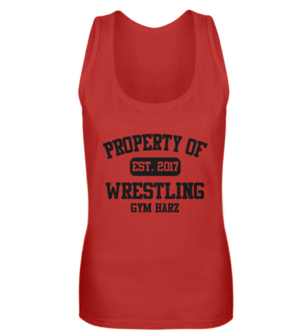 Property Wrestling Gym Girlie Tanktop - Frauen Tanktop-4