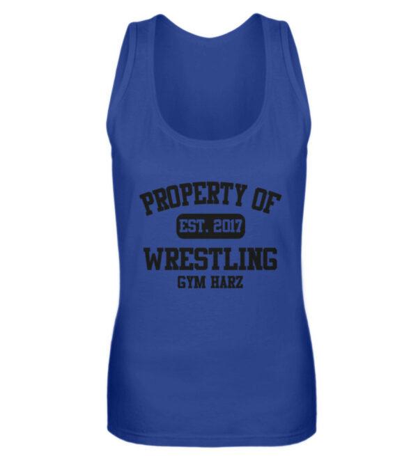 Property Wrestling Gym Girlie Tanktop - Frauen Tanktop-27