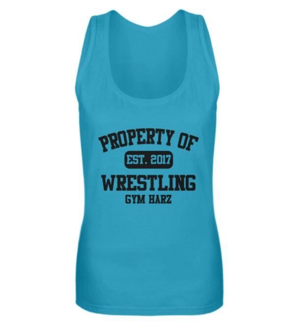 Property Wrestling Gym Girlie Tanktop - Frauen Tanktop-3175
