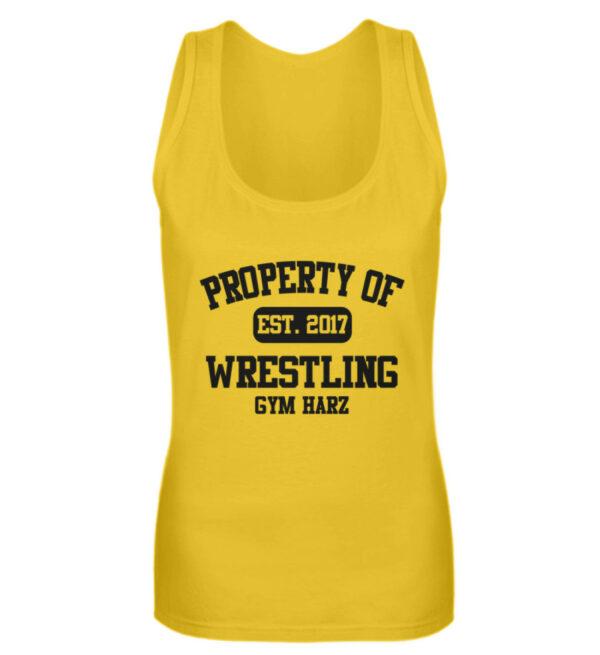 Property Wrestling Gym Girlie Tanktop - Frauen Tanktop-3201