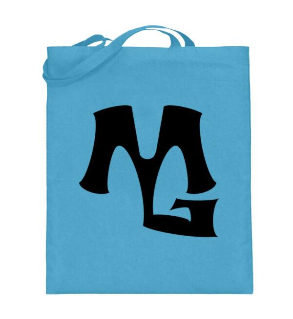 MG Muscle - Jutebeutel (mit langen Henkeln)-5745