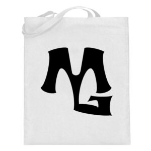 MG Muscle - Jutebeutel (mit langen Henkeln)-3