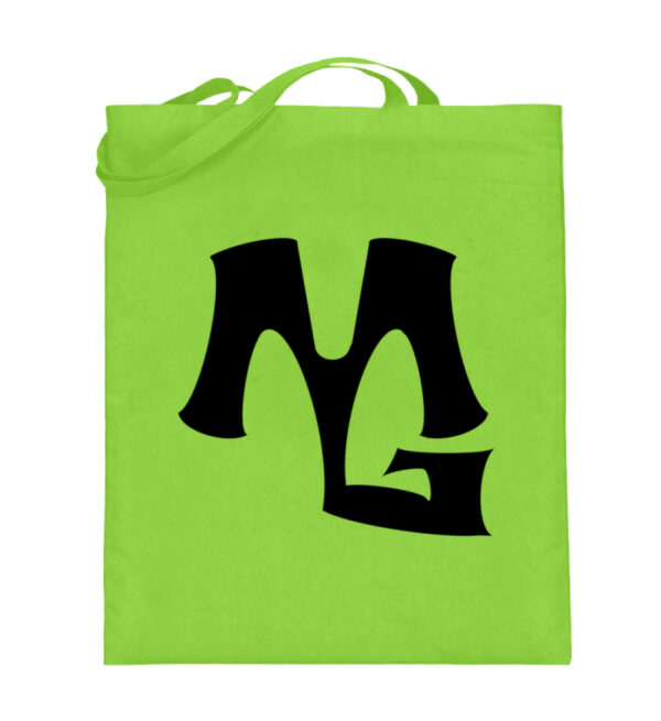 MG Muscle - Jutebeutel (mit langen Henkeln)-5753