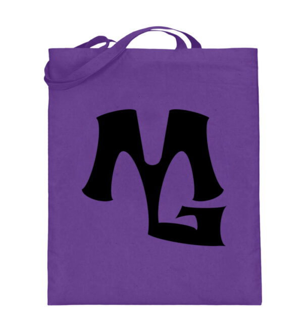 MG Muscle - Jutebeutel (mit langen Henkeln)-5763