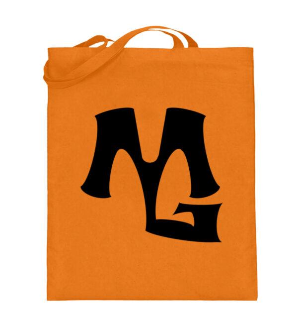 MG Muscle - Jutebeutel (mit langen Henkeln)-5757