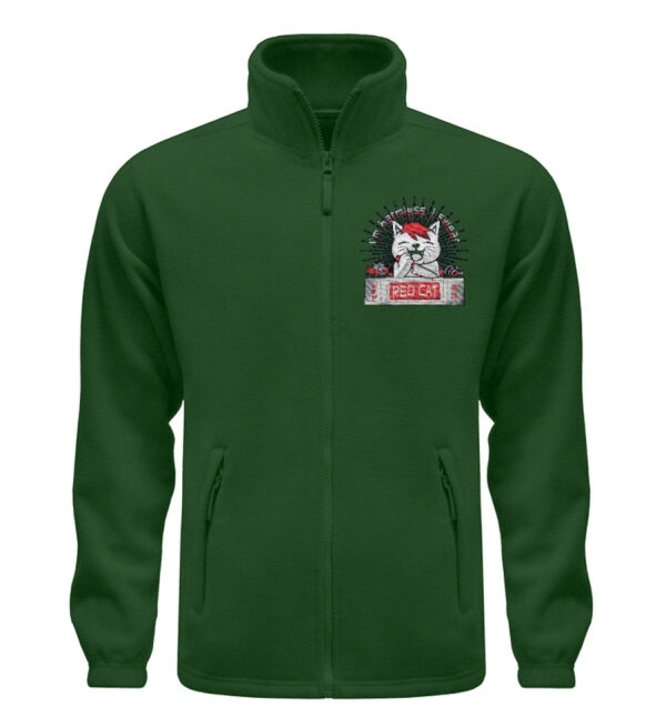 Red Cat Harmless Fleece - Fleece Jacke mit Stick-2936