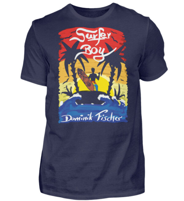 Dominik Fischer Surfer T-Shirt - Herren Shirt-198