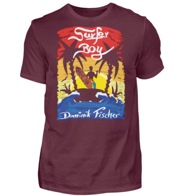 Dominik Fischer Surfer T-Shirt - Herren Shirt-839