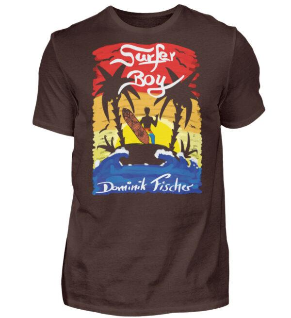 Dominik Fischer Surfer T-Shirt - Herren Shirt-1074