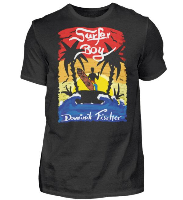 Dominik Fischer Surfer T-Shirt - Herren Shirt-16
