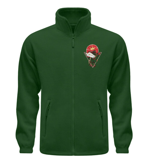 Red Cat Logo Fleece - Fleece Jacke mit Stick-2936
