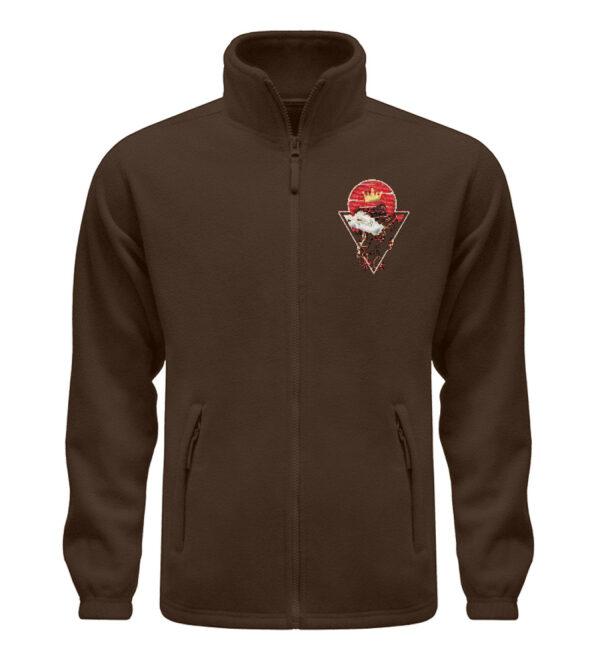 Red Cat Logo Fleece - Fleece Jacke mit Stick-6950