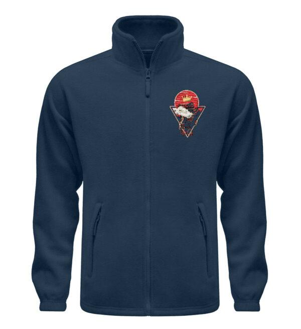Red Cat Logo Fleece - Fleece Jacke mit Stick-6951