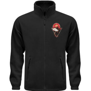 Red Cat Logo Fleece - Fleece Jacke mit Stick-16