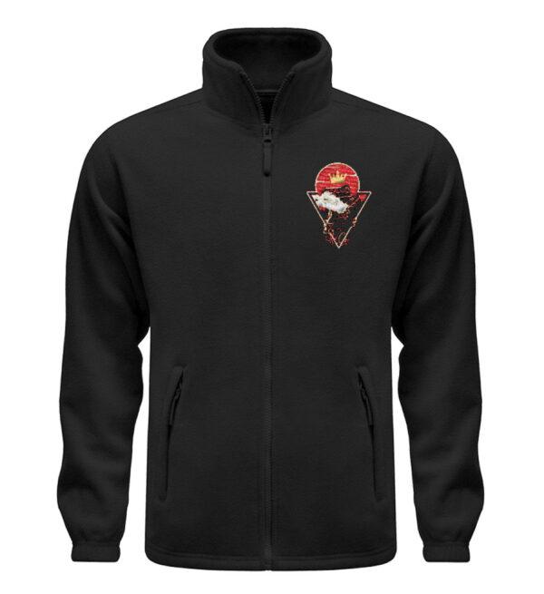 Red Cat Logo Fleece - Fleece Jacke mit Stick-16