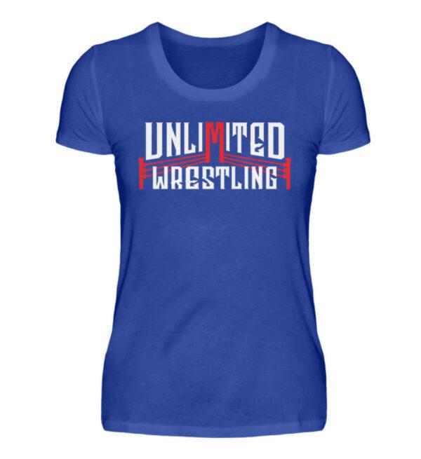 Unlimited Wrestling Logo Girlie - Damenshirt-2496