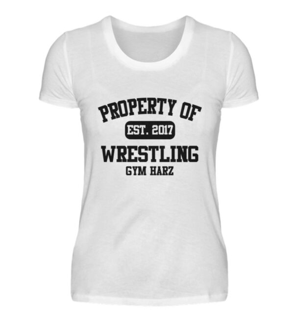 Property Wrestling Gym Girlie - Damenshirt-3