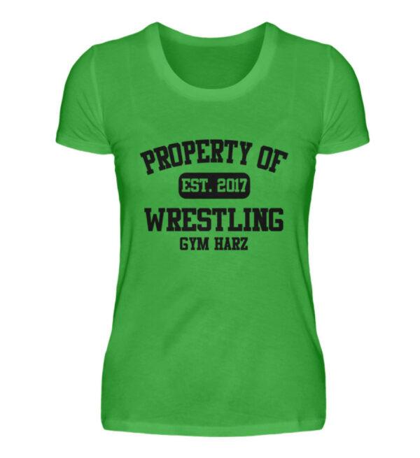 Property Wrestling Gym Girlie - Damenshirt-2468