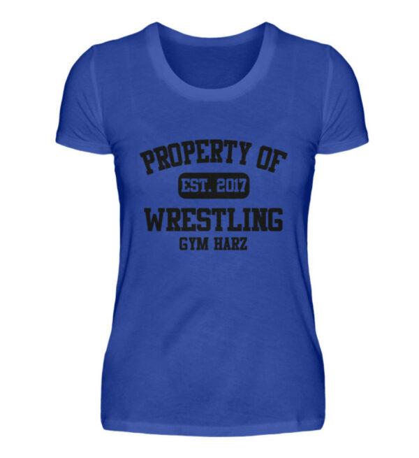 Property Wrestling Gym Girlie - Damenshirt-2496