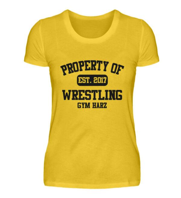 Property Wrestling Gym Girlie - Damenshirt-3201