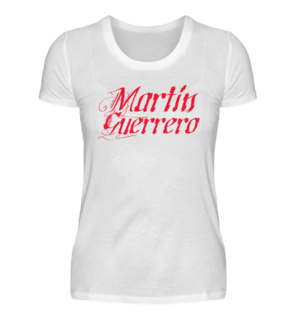 Martin Guerrero Latino Girlie - Damenshirt-3