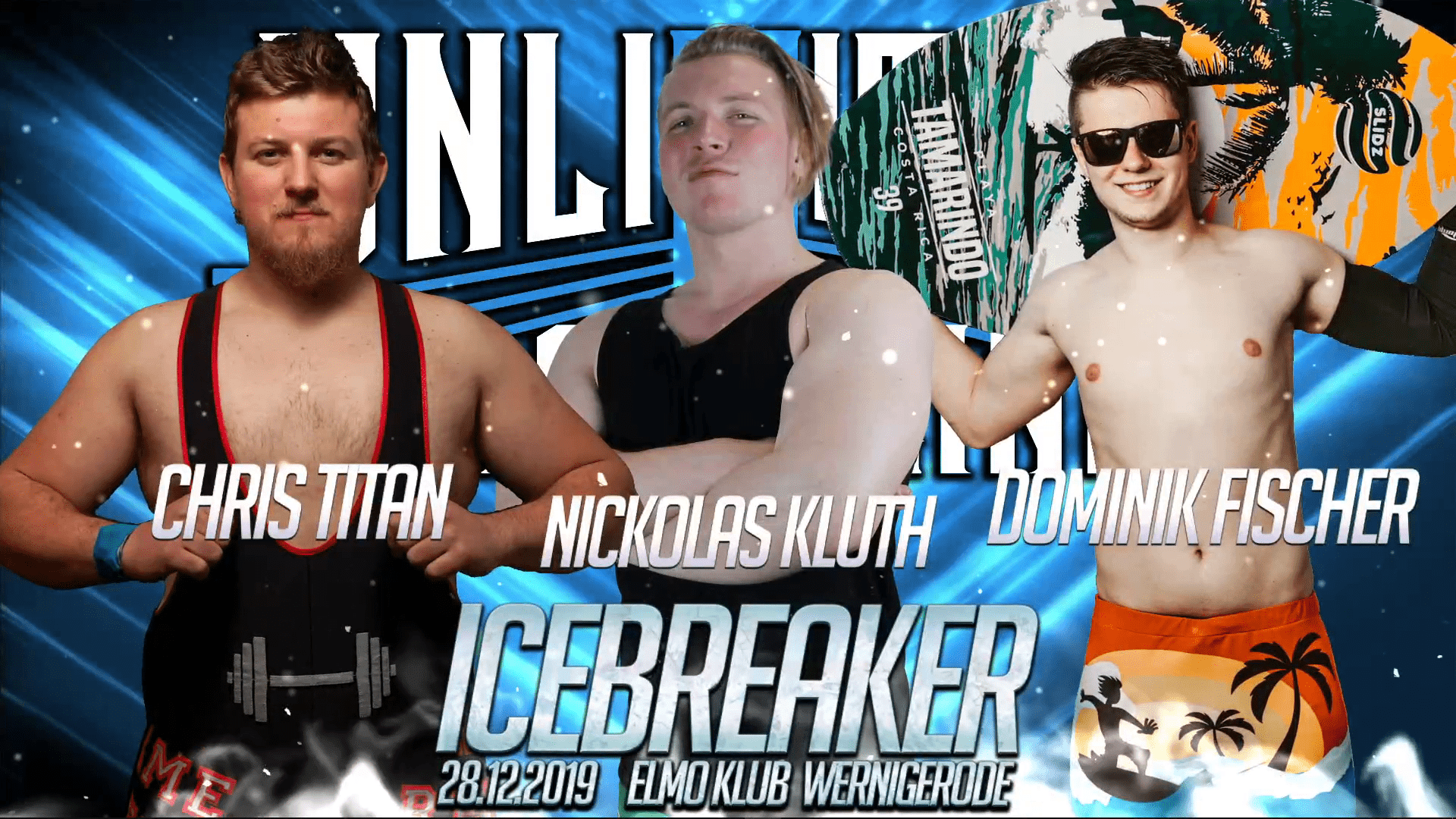 Triple Threat MatchChris Titan vs. Nickolas Kluth vs. Dominik Fischer