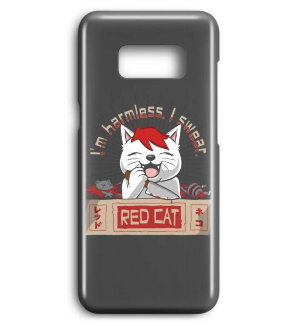 Red Cat Harmless Handyhülle - Premium Case Handyhülle-6778