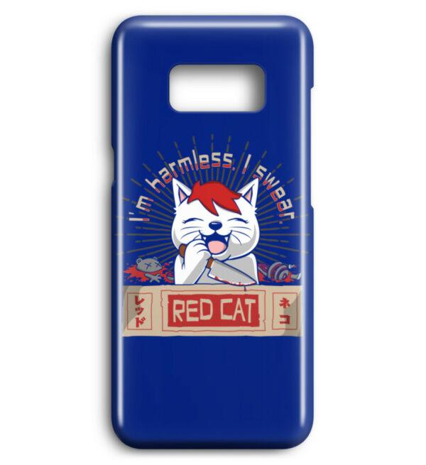 Red Cat Harmless Handyhülle - Premium Case Handyhülle-27