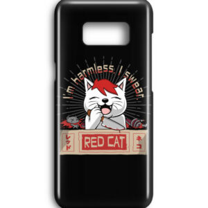 Red Cat Harmless Handyhülle - Premium Case Handyhülle-16