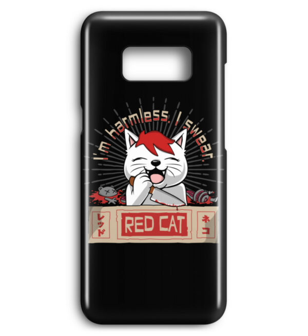 Red Cat Harmless Handyhülle - Premium Case Handyhülle-16