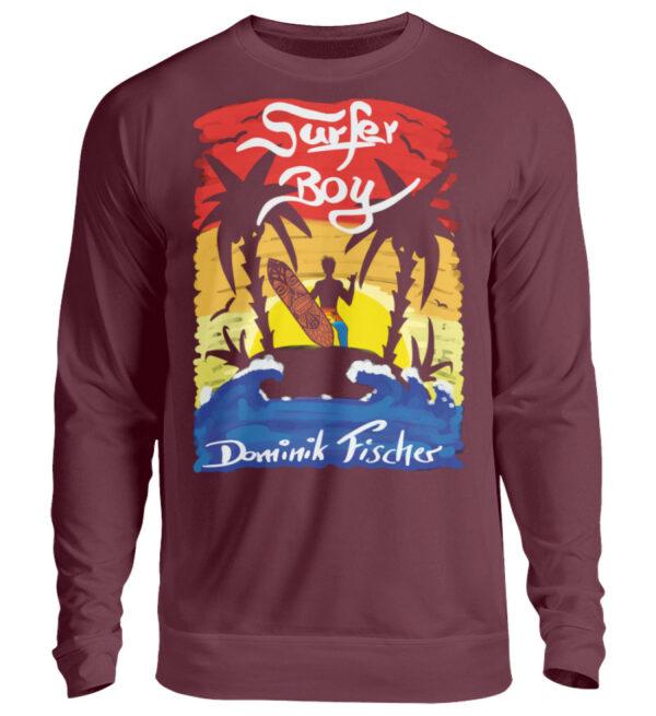 Dominik Fischer Surfer Sweatshirt - Unisex Pullover-839