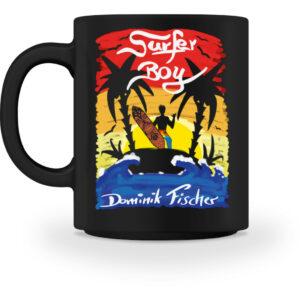 Dominik Fischer Surfer Tasse - Tasse-16
