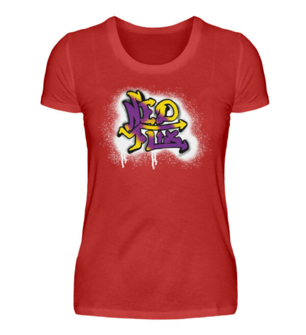 Ned Flix Girlie - Damenshirt-4