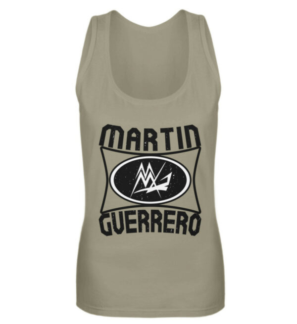 Martin Guerrero Oval Girlie Tank-Top - Frauen Tanktop-651