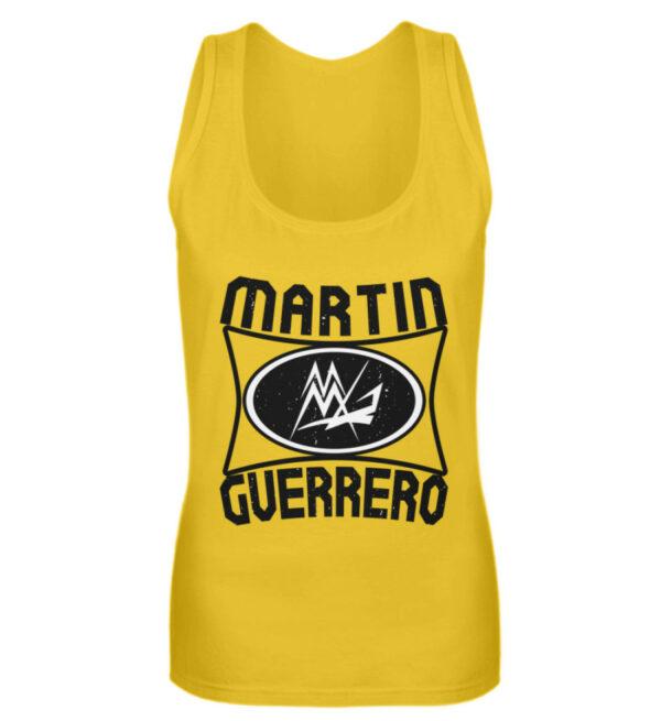 Martin Guerrero Oval Girlie Tank-Top - Frauen Tanktop-3201