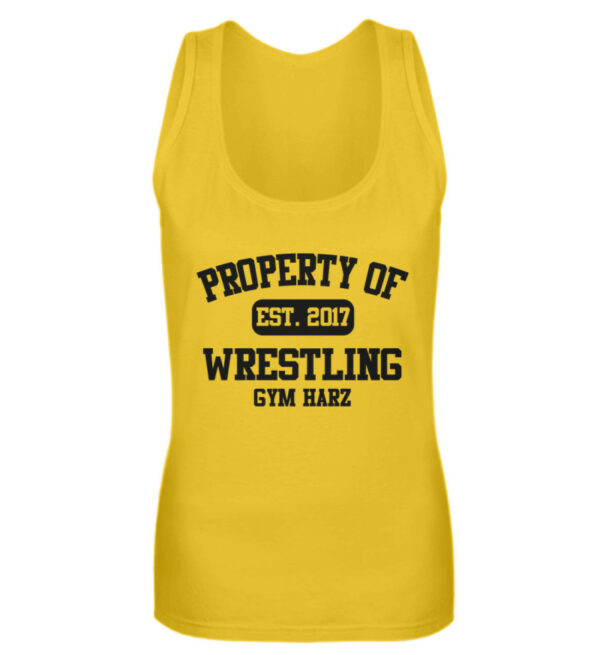 Property Wrestling Gym Harz - Frauen Tanktop-3201