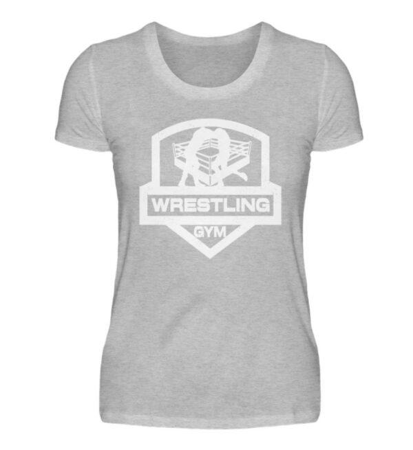 Wrestling Gym Girlie - Damenshirt-17