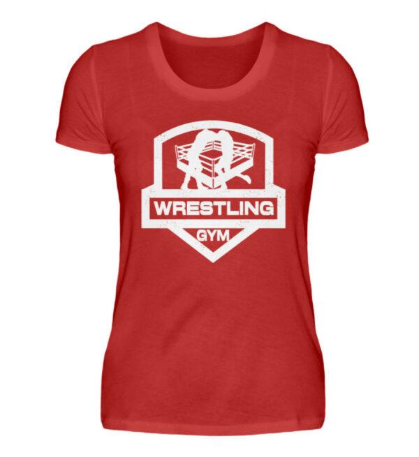 Wrestling Gym Girlie - Damenshirt-4
