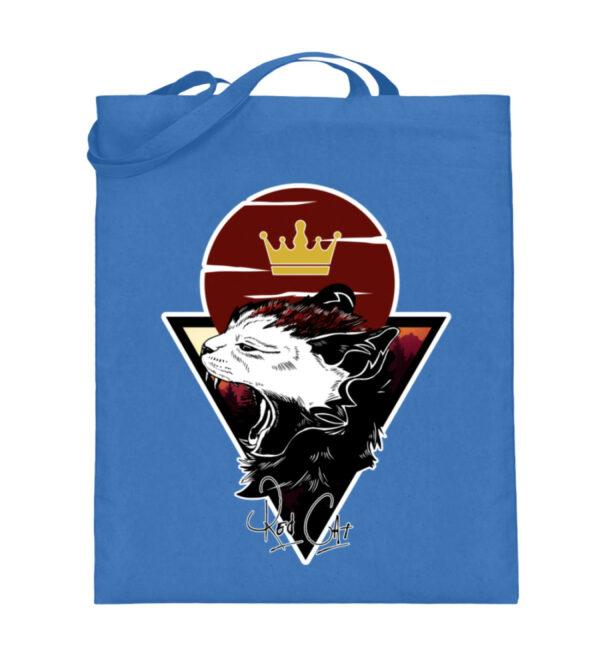 Red Cat Logo Beutel - Jutebeutel (mit langen Henkeln)-5739