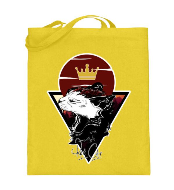 Red Cat Logo Beutel - Jutebeutel (mit langen Henkeln)-5766