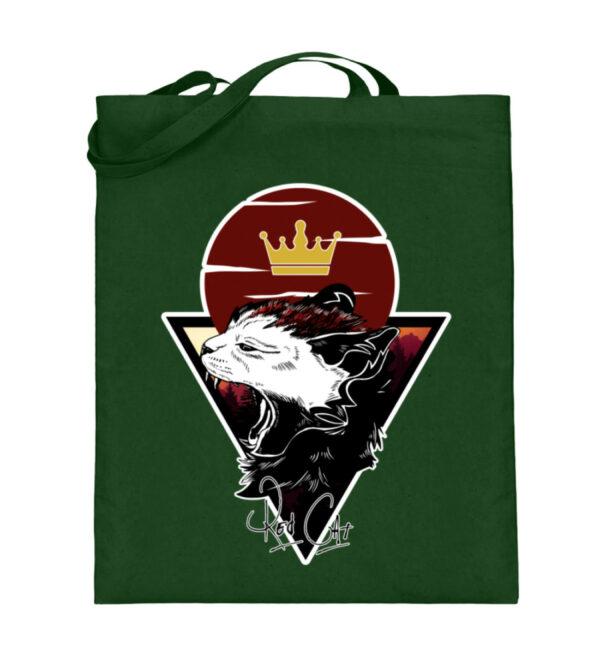 Red Cat Logo Beutel - Jutebeutel (mit langen Henkeln)-5741
