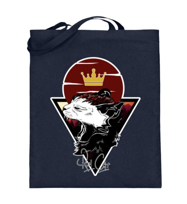 Red Cat Logo Beutel - Jutebeutel (mit langen Henkeln)-5743