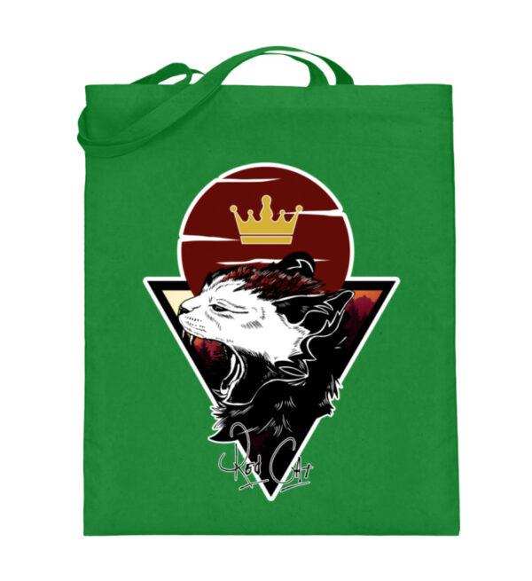 Red Cat Logo Beutel - Jutebeutel (mit langen Henkeln)-5747
