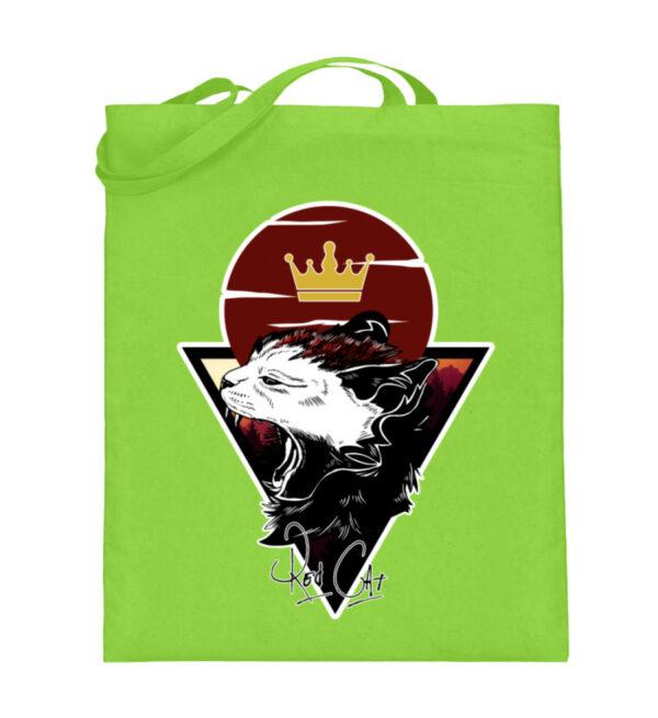 Red Cat Logo Beutel - Jutebeutel (mit langen Henkeln)-5753