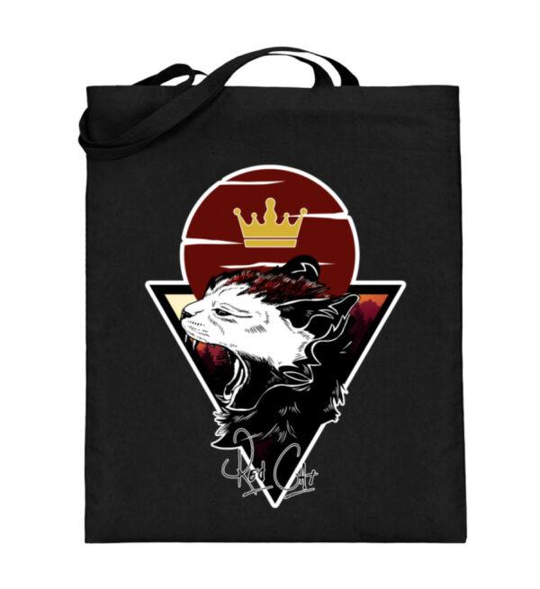 Red Cat Logo Beutel - Jutebeutel (mit langen Henkeln)-16
